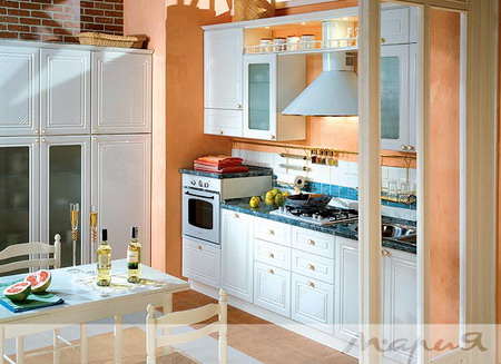 Комплект мебели для кухни BIANCA