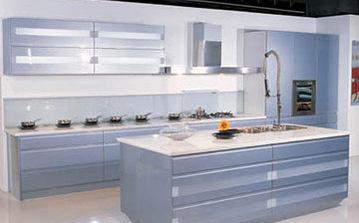 Кухня в стиле High-tech