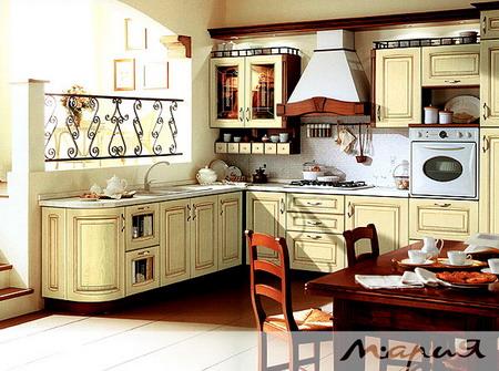 Комплект мебели для кухни POSITANO